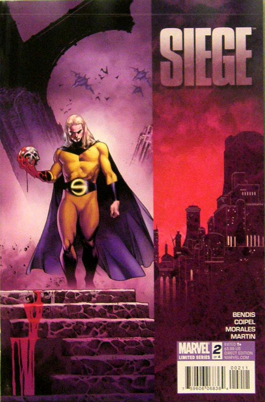 Cover of Siege (2010 Ltd) #2. One of 250,000 Vintage American Comics on sale from Krypton!
