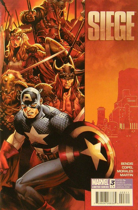 Cover of Siege (2010 Ltd) #3. One of 250,000 Vintage American Comics on sale from Krypton!