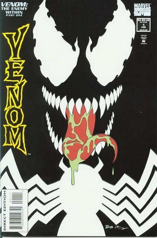 Cover of Venom: Enemy Within (1994 Ltd) #1. One of 250,000 Vintage American Comics on sale from Krypton!