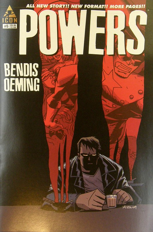 Cover of Powers (Vol 3) #5. One of 250,000 Vintage American Comics on sale from Krypton!