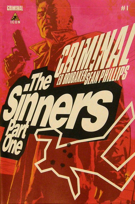 Cover of Criminal: The Sinners (Vol 1) #1. One of 250,000 Vintage American Comics on sale from Krypton!