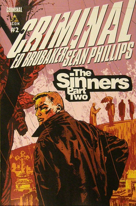 Cover of Criminal: The Sinners (Vol 1) #2. One of 250,000 Vintage American Comics on sale from Krypton!