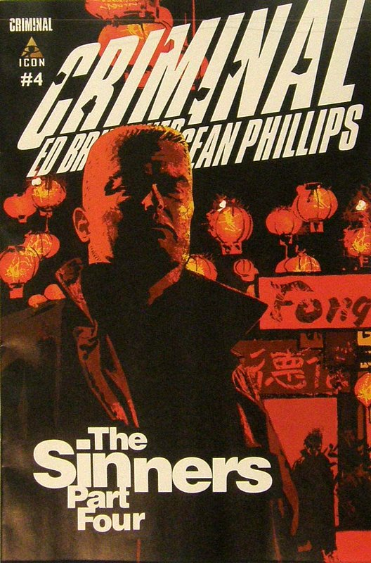Cover of Criminal: The Sinners (Vol 1) #4. One of 250,000 Vintage American Comics on sale from Krypton!