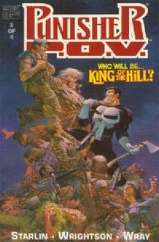 Cover of Punisher P.O.V. (1991 Ltd) #3. One of 250,000 Vintage American Comics on sale from Krypton!