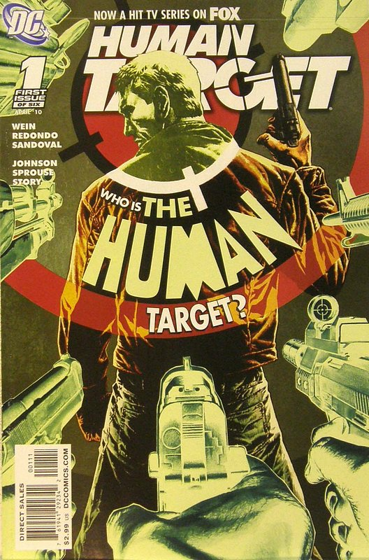 Cover of Human Target (2010 Ltd) #1. One of 250,000 Vintage American Comics on sale from Krypton!