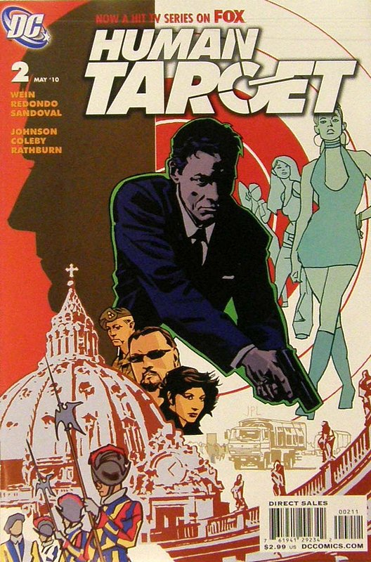 Cover of Human Target (2010 Ltd) #2. One of 250,000 Vintage American Comics on sale from Krypton!