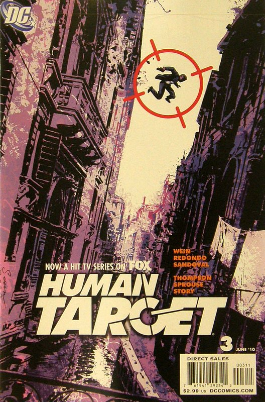 Cover of Human Target (2010 Ltd) #3. One of 250,000 Vintage American Comics on sale from Krypton!