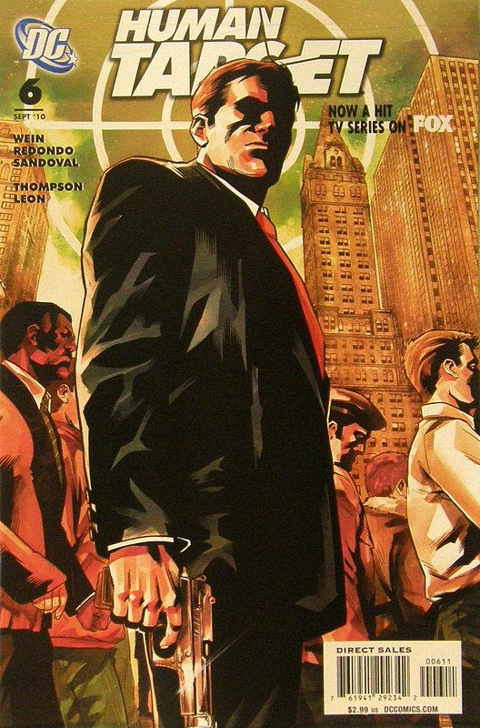 Cover of Human Target (2010 Ltd) #6. One of 250,000 Vintage American Comics on sale from Krypton!
