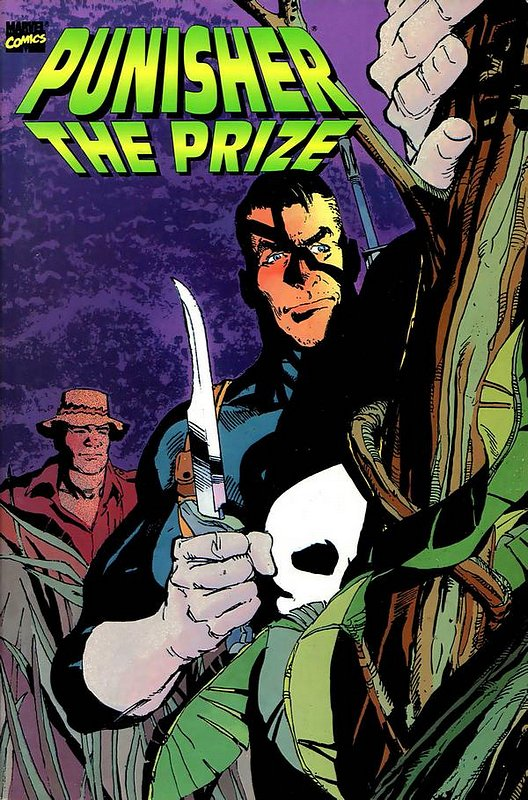 Cover of Punisher: The Prize (1990 One Shot) #1. One of 250,000 Vintage American Comics on sale from Krypton!