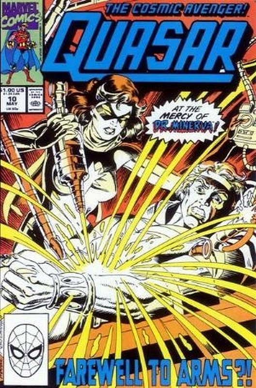 Cover of Quasar (Vol 1) #10. One of 250,000 Vintage American Comics on sale from Krypton!