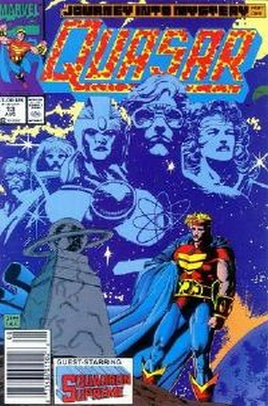 Cover of Quasar (Vol 1) #13. One of 250,000 Vintage American Comics on sale from Krypton!