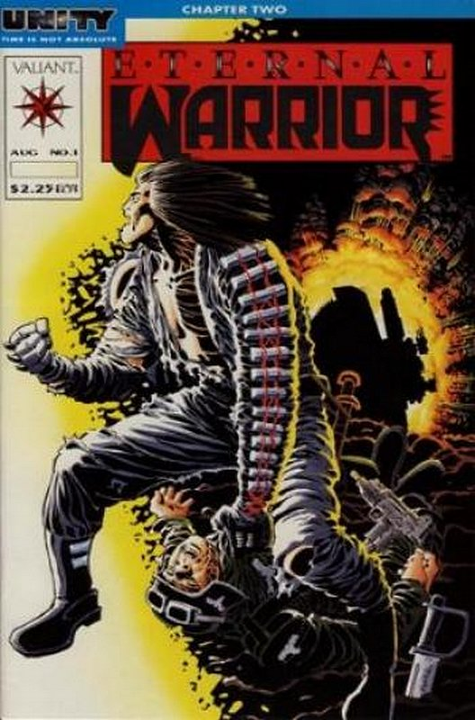 Cover of Eternal Warrior (Vol 1) #1. One of 250,000 Vintage American Comics on sale from Krypton!