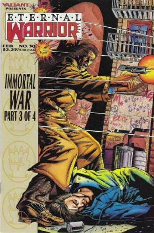 Cover of Eternal Warrior (Vol 1) #30. One of 250,000 Vintage American Comics on sale from Krypton!