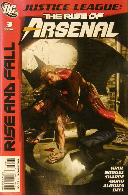 Cover of Justice League: Rise & Fall of Arsenal (2010 Ltd) #3. One of 250,000 Vintage American Comics on sale from Krypton!