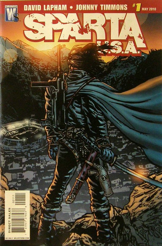 Cover of Sparta: USA (2010 Ltd) #1. One of 250,000 Vintage American Comics on sale from Krypton!