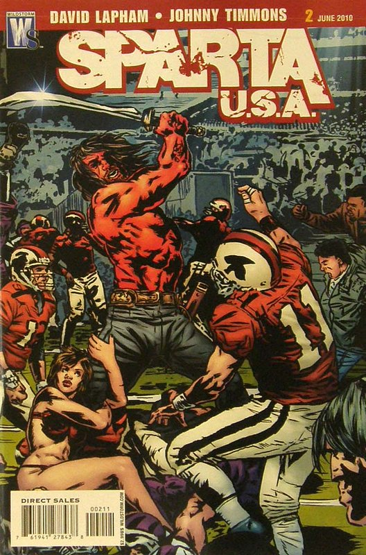 Cover of Sparta: USA (2010 Ltd) #2. One of 250,000 Vintage American Comics on sale from Krypton!
