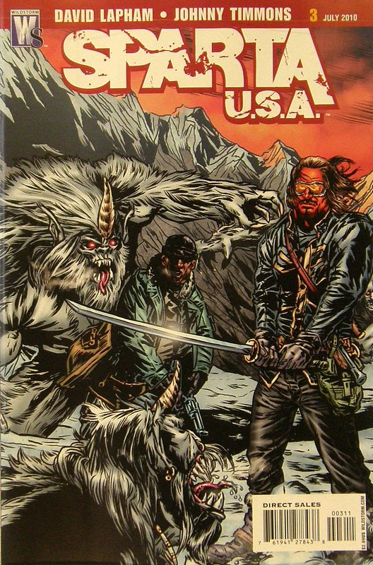 Cover of Sparta: USA (2010 Ltd) #3. One of 250,000 Vintage American Comics on sale from Krypton!