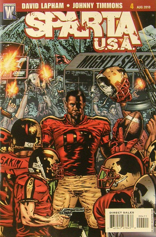 Cover of Sparta: USA (2010 Ltd) #4. One of 250,000 Vintage American Comics on sale from Krypton!