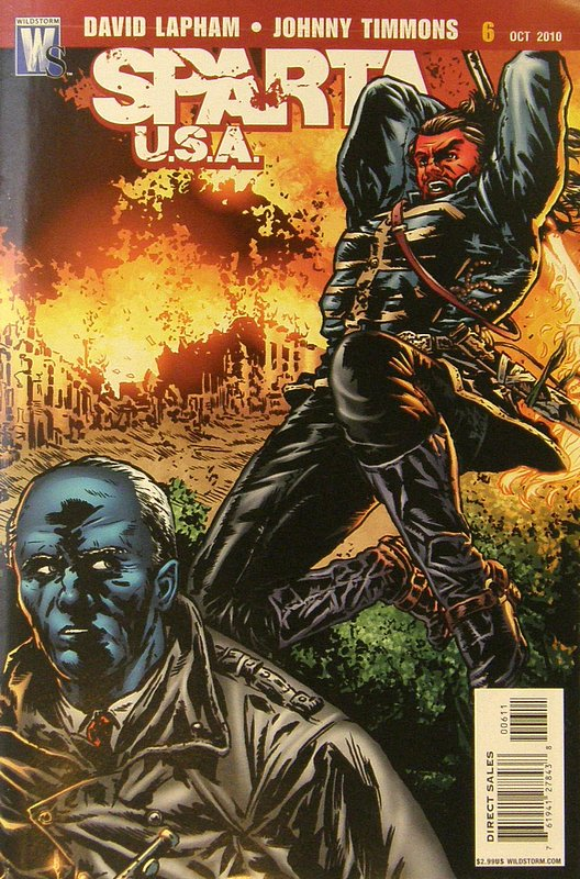 Cover of Sparta: USA (2010 Ltd) #6. One of 250,000 Vintage American Comics on sale from Krypton!