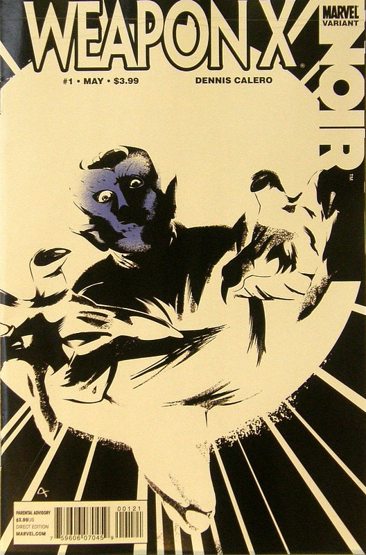Cover of Weapon X: Noir (2010 One Shot) #1. One of 250,000 Vintage American Comics on sale from Krypton!