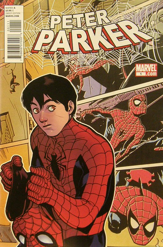 Cover of Peter Parker #1. One of 250,000 Vintage American Comics on sale from Krypton!