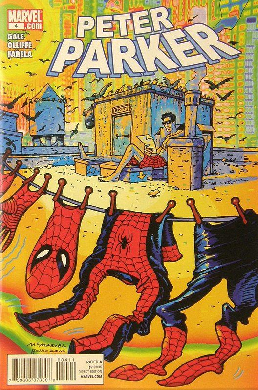 Cover of Peter Parker #4. One of 250,000 Vintage American Comics on sale from Krypton!