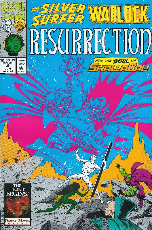 Cover of Silver Surfer/Warlock: Resurrection (1993 Ltd) #4. One of 250,000 Vintage American Comics on sale from Krypton!