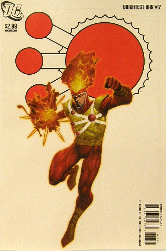 Cover of Brightest Day (Vol 1) #17. One of 250,000 Vintage American Comics on sale from Krypton!