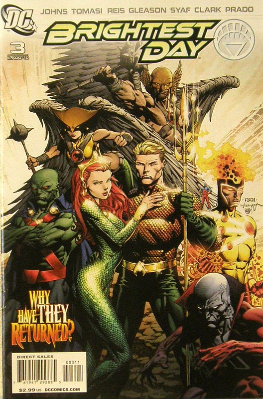 Cover of Brightest Day (Vol 1) #3. One of 250,000 Vintage American Comics on sale from Krypton!