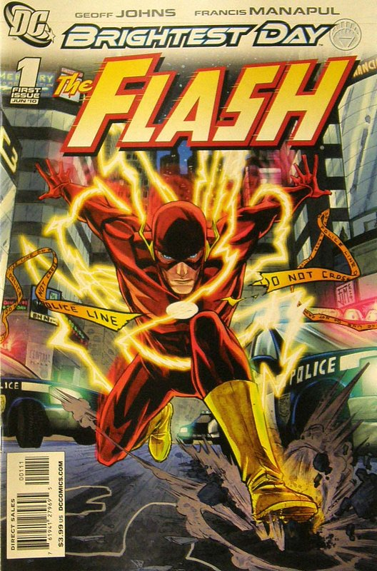 Cover of Flash (Vol 5) #1. One of 250,000 Vintage American Comics on sale from Krypton!