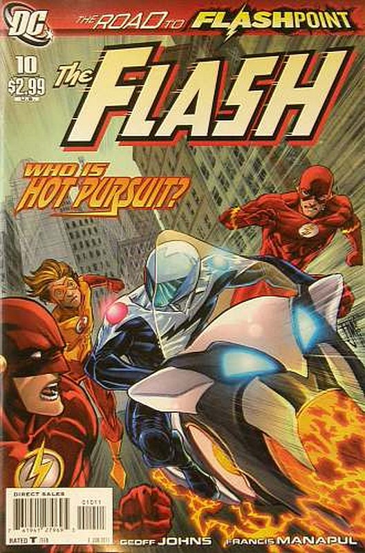 Cover of Flash (Vol 5) #10. One of 250,000 Vintage American Comics on sale from Krypton!