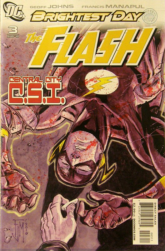 Cover of Flash (Vol 5) #3. One of 250,000 Vintage American Comics on sale from Krypton!