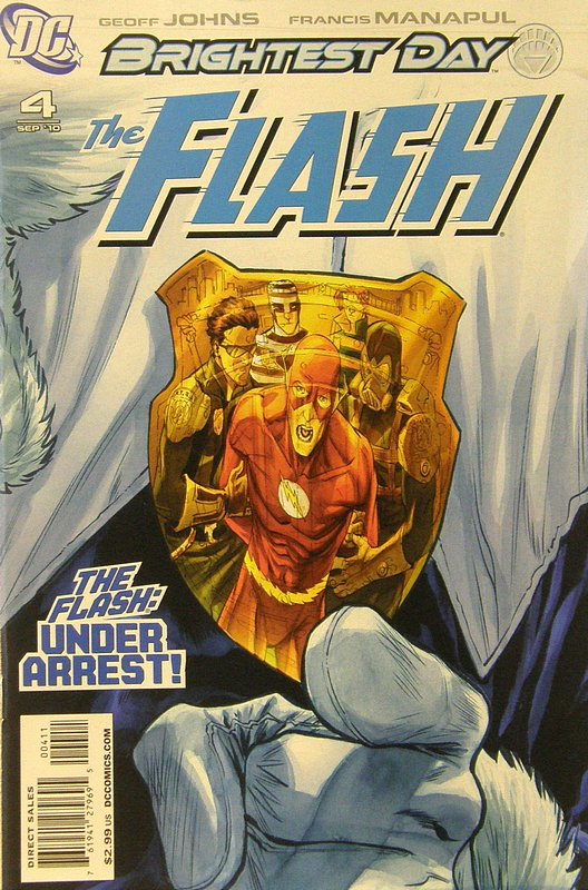 Cover of Flash (Vol 5) #4. One of 250,000 Vintage American Comics on sale from Krypton!