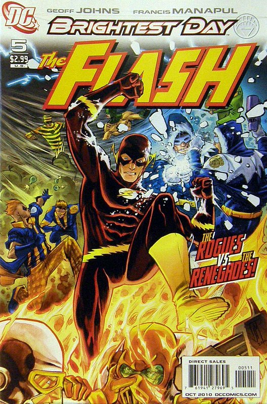 Cover of Flash (Vol 5) #5. One of 250,000 Vintage American Comics on sale from Krypton!