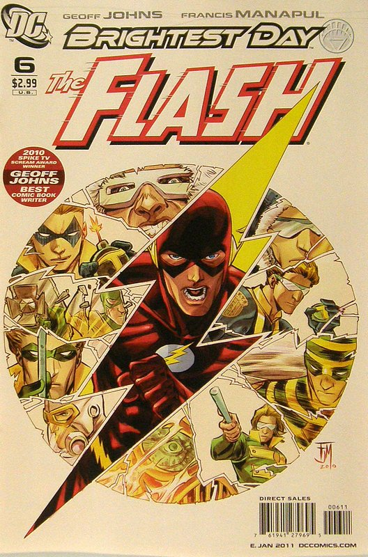 Cover of Flash (Vol 5) #6. One of 250,000 Vintage American Comics on sale from Krypton!