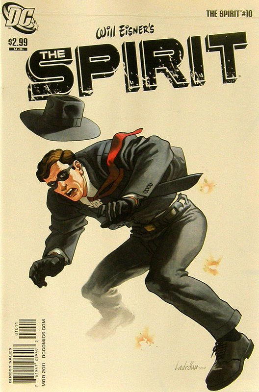 Cover of Spirit (DC Comics Vol 2) #10. One of 250,000 Vintage American Comics on sale from Krypton!