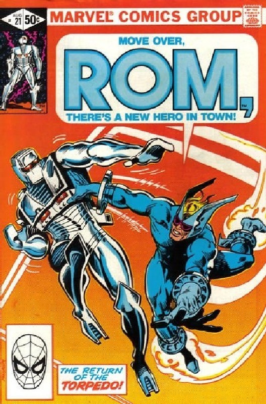 Cover of Rom #21. One of 250,000 Vintage American Comics on sale from Krypton!