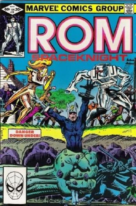 Cover of Rom #28. One of 250,000 Vintage American Comics on sale from Krypton!