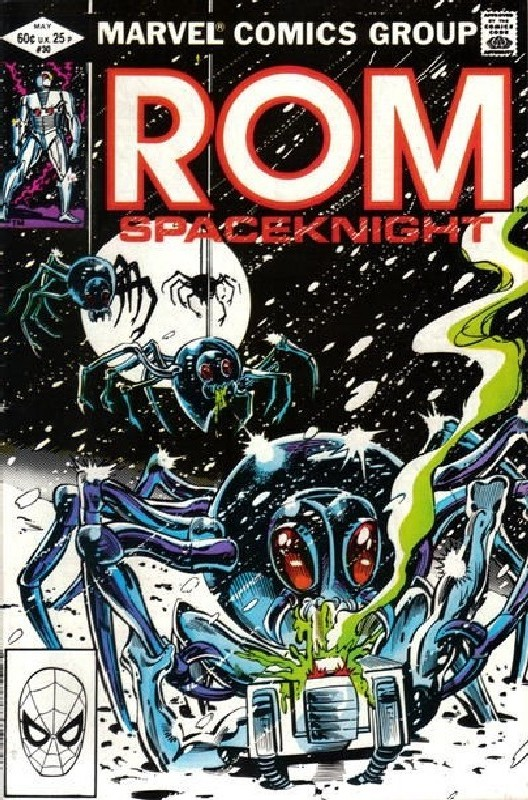 Cover of Rom #30. One of 250,000 Vintage American Comics on sale from Krypton!