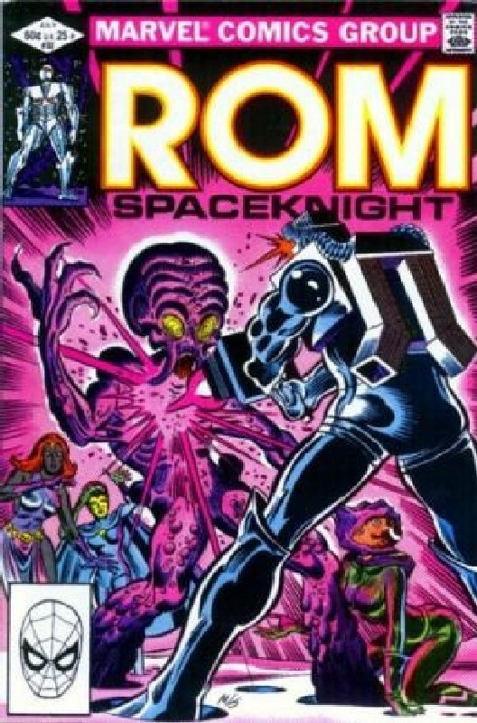 Cover of Rom #32. One of 250,000 Vintage American Comics on sale from Krypton!