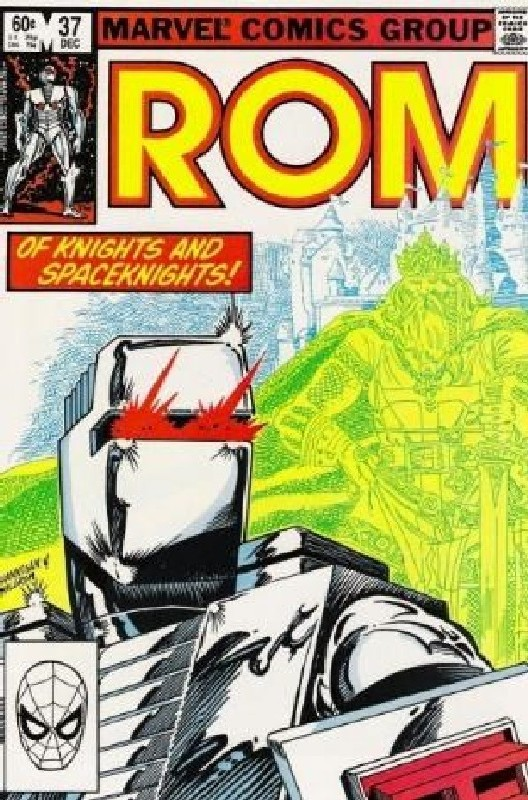 Cover of Rom #37. One of 250,000 Vintage American Comics on sale from Krypton!