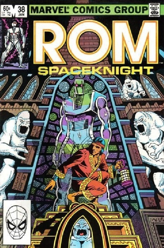Cover of Rom #38. One of 250,000 Vintage American Comics on sale from Krypton!