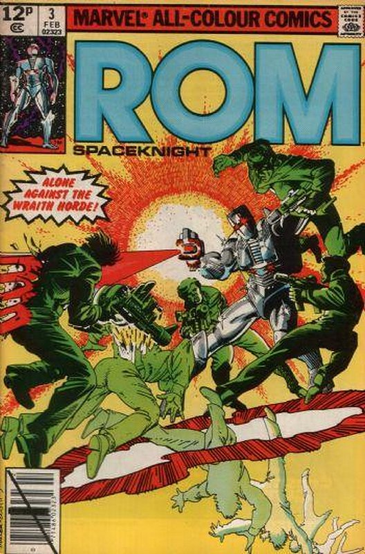 Cover of Rom #3. One of 250,000 Vintage American Comics on sale from Krypton!