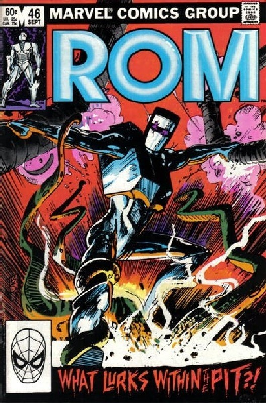 Cover of Rom #46. One of 250,000 Vintage American Comics on sale from Krypton!
