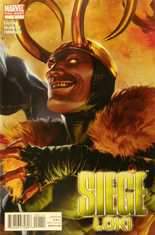 Cover of Siege: Loki (2010 One Shot) #1. One of 250,000 Vintage American Comics on sale from Krypton!