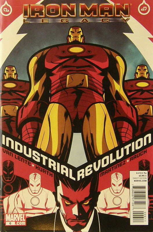 Cover of Iron Man: Legacy (Vol 1) #6. One of 250,000 Vintage American Comics on sale from Krypton!