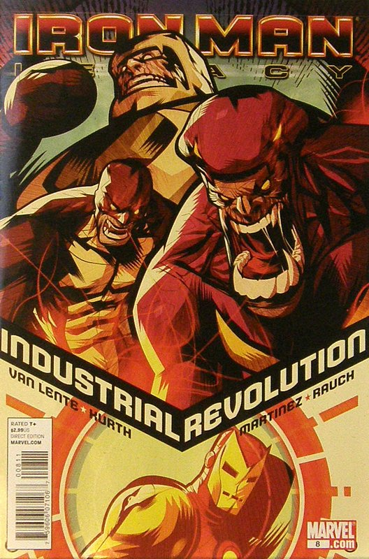 Cover of Iron Man: Legacy (Vol 1) #8. One of 250,000 Vintage American Comics on sale from Krypton!