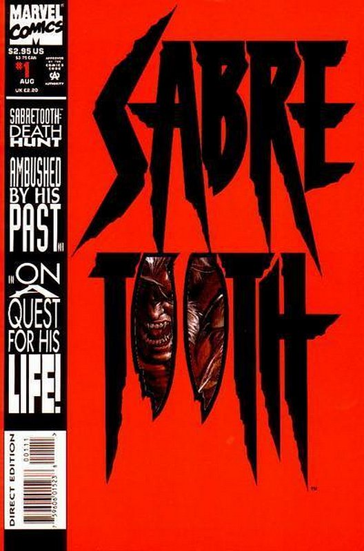 Cover of Sabretooth: Death Hunt (1993 Ltd) #1. One of 250,000 Vintage American Comics on sale from Krypton!