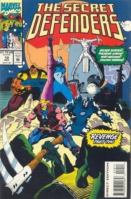 Cover of Secret Defenders (Vol 1) #10. One of 250,000 Vintage American Comics on sale from Krypton!