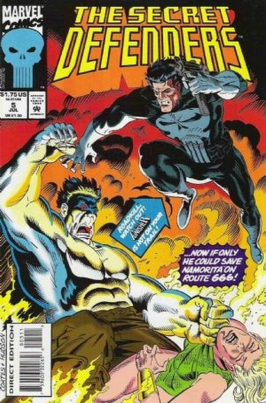 Cover of Secret Defenders (Vol 1) #5. One of 250,000 Vintage American Comics on sale from Krypton!